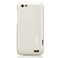 Nillkin Colorful Hard Cases Skin Covers for HTC One V Primo T320e - White