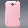 Nillkin Colorful Hard Cases Skin Covers for HTC Sensation XL Runnymede X315e G21 - Pink