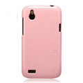 Nillkin Colorful Hard Cases Skin Covers for HTC T328W Desire V - Pink