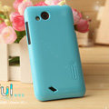 Nillkin Colorful Hard Cases Skin Covers for HTC T328d Desire VC - Blue