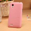 Nillkin Colorful Hard Cases Skin Covers for HTC T328t Desire VT - Pink
