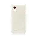 Nillkin Colorful Hard Cases Skin Covers for HTC T328t Desire VT - White