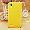 Nillkin Colorful Hard Cases Skin Covers for HTC T328t Desire VT - Yellow