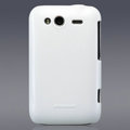 Nillkin Colorful Hard Cases Skin Covers for HTC Wildfire S A510e G13 - White