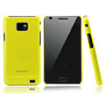 Nillkin Colorful Hard Cases Skin Covers for Samsung i9100 i9108 i9188 Galasy S2 - Yellow