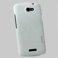 Nillkin Dynamic Color Hard Cases Skin Covers for HTC One X Superme Edge S720E G23 - White