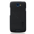 Nillkin Matte Hard Cases Skin Covers for HTC One S Ville Z520E - Black