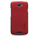 Nillkin Matte Hard Cases Skin Covers for HTC One S Ville Z520E - Red