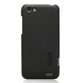 Nillkin Matte Hard Cases Skin Covers for HTC One V Primo T320e - Black