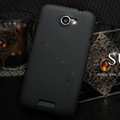 Nillkin Matte Hard Cases Skin Covers for HTC One X Superme Edge S720E G23 - Black
