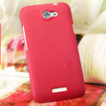 Nillkin Matte Hard Cases Skin Covers for HTC One X Superme Edge S720E G23 - Rose