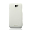 Nillkin Matte Hard Cases Skin Covers for HTC One X Superme Edge S720E G23 - White