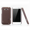 Nillkin Matte Hard Cases Skin Covers for HTC Sensation XL Runnymede X315e G21 - Brown