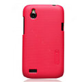 Nillkin Matte Hard Cases Skin Covers for HTC T328W Desire V - Red