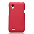Nillkin Matte Hard Cases Skin Covers for HTC T328t Desire VT - Red