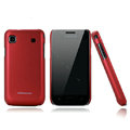 Nillkin Super Matte Hard Cases Skin Covers for Samsung i9008 i9003 - Red