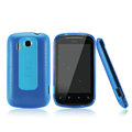 Nillkin Super Matte Rainbow Cases Skin Covers for HTC Explorer Pico A310e - Blue