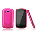 Nillkin Super Matte Rainbow Cases Skin Covers for HTC Explorer Pico A310e - Pink