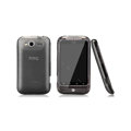 Nillkin Super Matte Rainbow Cases Skin Covers for HTC Wildfire S A510e G13 - Black