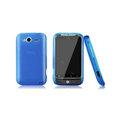 Nillkin Super Matte Rainbow Cases Skin Covers for HTC Wildfire S A510e G13 - Blue