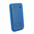 Nillkin Super Matte Rainbow Cases Skin Covers for Samsung i9008 i9003 - Blue