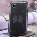 Nillkin Super Scrub Rainbow Cases Skin Covers for HTC T328W Desire V - Gray