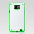 Nillkin Super two-color Cases Skin Covers for Samsung i9100 i9108 i9188 Galasy S2 - Green