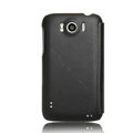 Nillkin leather Cases Holster Covers for HTC Sensation XL Runnymede X315e G21 - Black