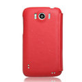 Nillkin leather Cases Holster Covers for HTC Sensation XL Runnymede X315e G21 - Red
