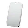 Nillkin leather Cases Holster Covers for HTC T328W Desire V - White