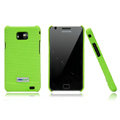 Nillkin leather Cases Holster Covers for Samsung i9100 i9108 i9188 Galasy S2 - Green