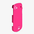 ROCK Colorful Glossy Cases Skin Covers for BlackBerry 9900 - Rose