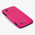 ROCK Colorful Glossy Cases Skin Covers for Motorola ME865 - Rose