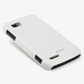 ROCK Colorful Glossy Cases Skin Covers for Motorola ME865 - White