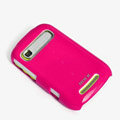 ROCK Colorful Glossy Cases Skin Covers for Motorola XT319 - Rose