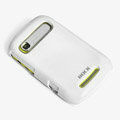 ROCK Colorful Glossy Cases Skin Covers for Motorola XT319 - White