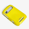ROCK Colorful Glossy Cases Skin Covers for Motorola XT319 - Yellow