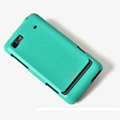 ROCK Colorful Glossy Cases Skin Covers for Motorola XT615 - Blue