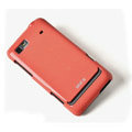 ROCK Colorful Glossy Cases Skin Covers for Motorola XT615 - Red