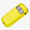 ROCK Colorful Glossy Cases Skin Covers for Nokia 701 - Yellow