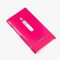 ROCK Colorful Glossy Cases Skin Covers for Nokia Lumia 800 800c - Rose