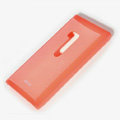 ROCK Colorful Glossy Cases Skin Covers for Nokia Lumia 900 Hydra - Red