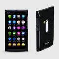 ROCK Colorful Glossy Cases Skin Covers for Nokia N9 - Black