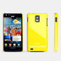 ROCK Colorful Glossy Cases Skin Covers for Samsung i997 infuse 4G - Yellow