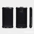 ROCK Flip leather Cases Holster Skin for Samsung i9100 i9108 i9188 Galasy S2 - Black