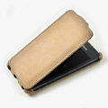 ROCK Flip leather Cases Holster Skin for Samsung i9103 Galaxy R - Beige
