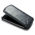 ROCK Flip leather Cases Holster Skin for Samsung i9250 GALAXY Nexus Prime i515 - Black