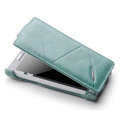 ROCK Flip leather Cases Holster Skin for Sony Ericsson LT26i Xperia S - Blue
