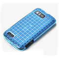 ROCK Magic cube TPU soft Cases Covers for Motorola ME865 - Blue