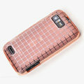 ROCK Magic cube TPU soft Cases Covers for Motorola ME865 - Pink